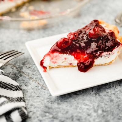 Easy Cherry Cheesecake Recipe