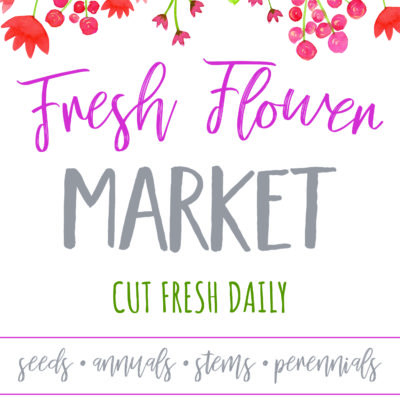 Fresh Flower Market Free Printable