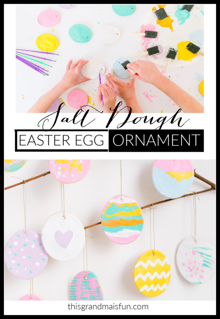 A super easy Easter craft idea for little kids that has a big WOW factor!