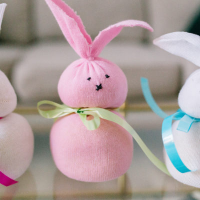 Sock Bunnies Craft