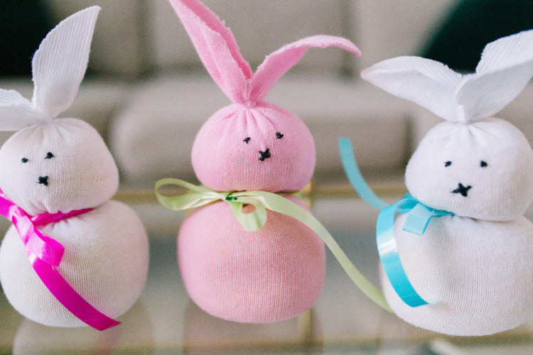 Sock Bunnies Craft