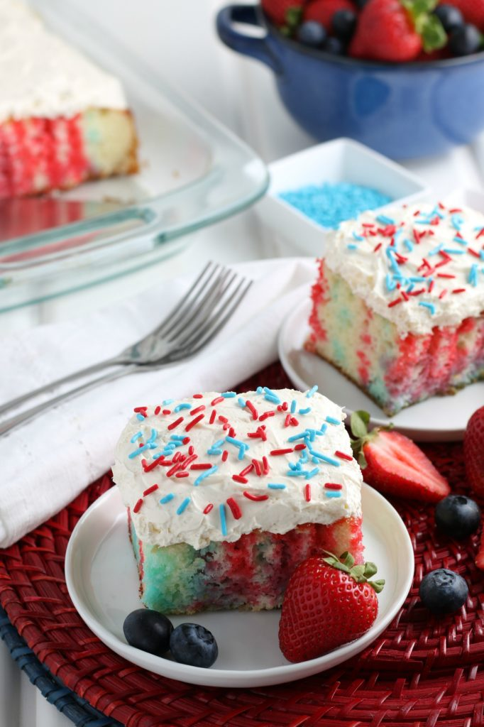 4th of July Poke Cake