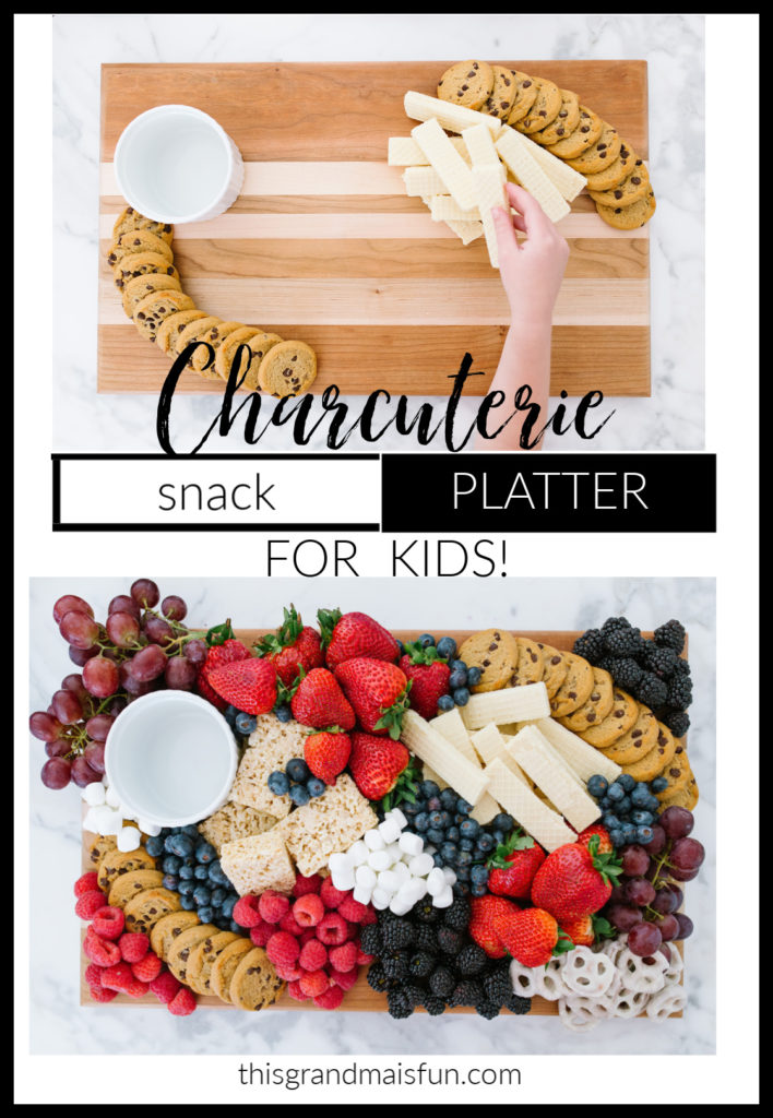 Charcuterie Platter for Kids Snacks