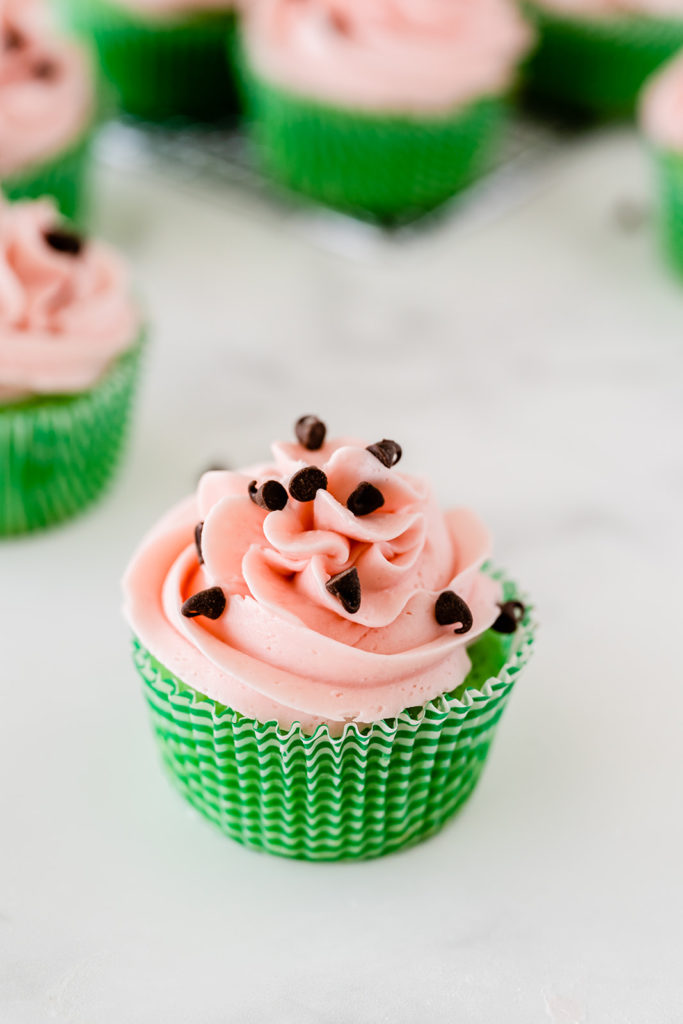 Watermelon Cupcake Recipe
