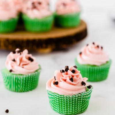 Watermelon Cupcake Recipe