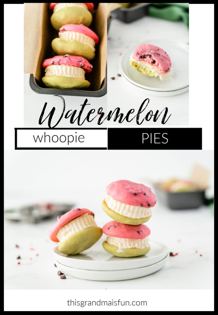 Watermelon Whoopie Pies
