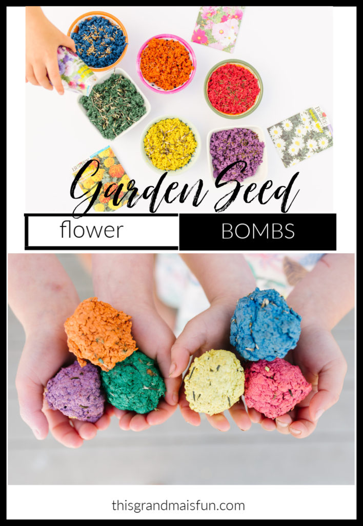 Garden Seed Flower Bombs