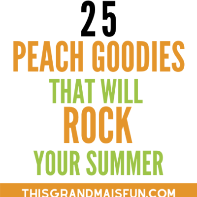 25 Peach Goodies that will Rock Your Summer