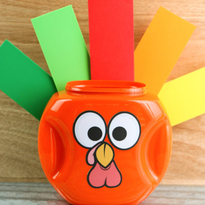 Tide Pods Turkey Craft
