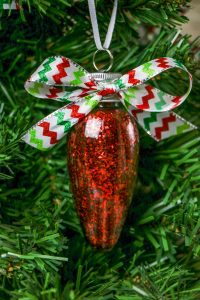 Christmas Glitter Ornaments