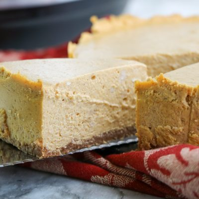 Low Carb Instant Pot Cheesecake