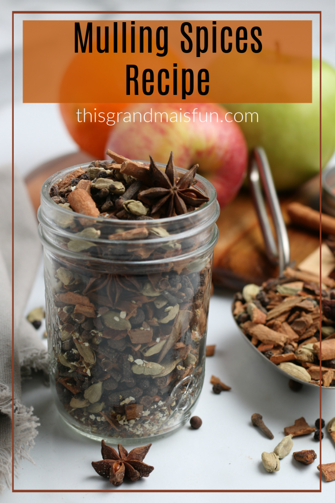 Mulling Spices - Use to create a wonderfully spiced apple cider or simmer on your stove top. Either way, your kitchen will be filled with the wonderful smells of Christmas!