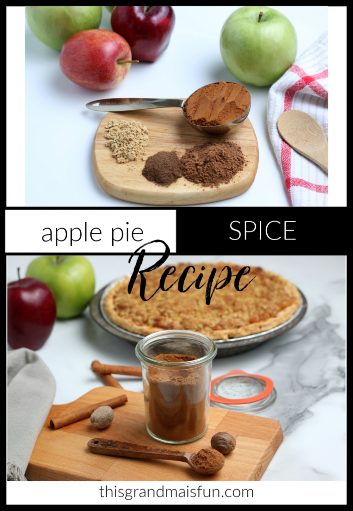 Apple Pie Spice Recipe