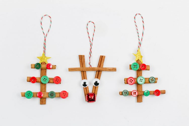 Cinnamon Stick Ornaments