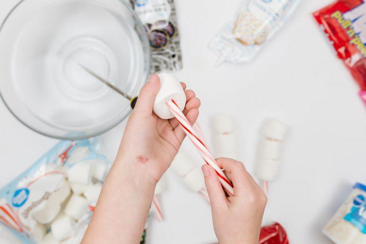 Marshmallow Snowman Craft