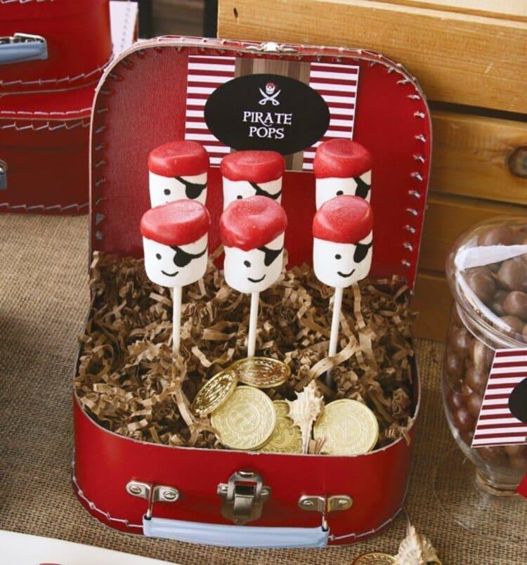 Marshmallow Pirate Pops