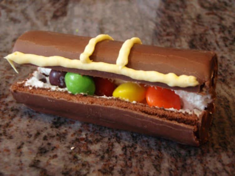 Pirate Treasure Chest Swiss Roll Food Idea