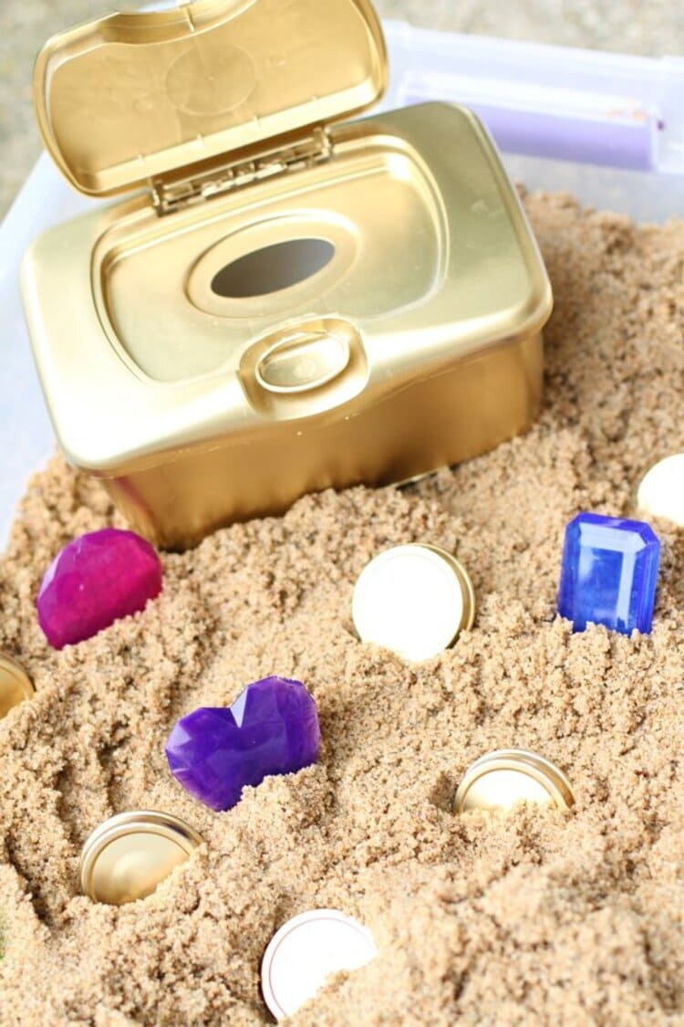 Pirates' Treasure Chest For Toddlers