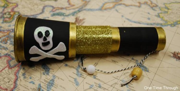 Crafted Pirates' Sea-View Telescope