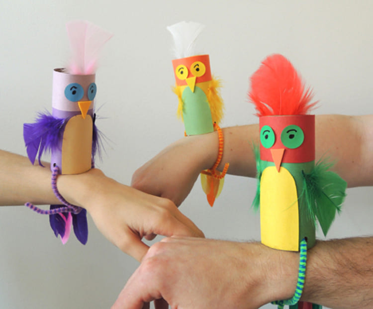 Crafted Pirates' Parakeets