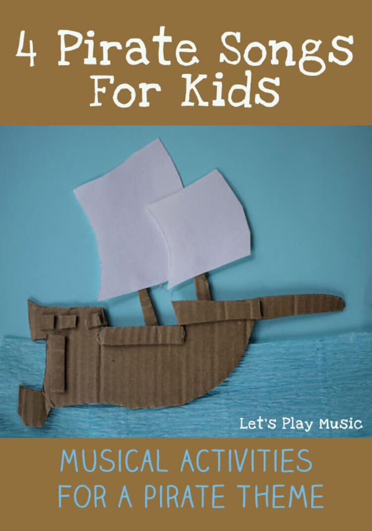 Pirate Themed party Songs Cover Page