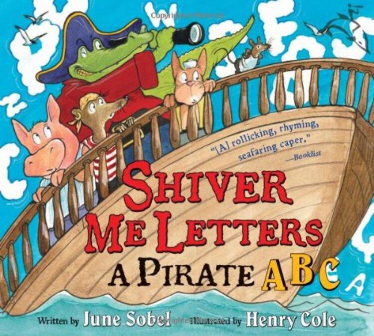 Shiver Me Letters Pirates' Book