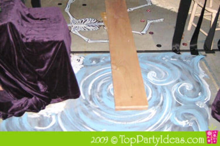 Walk the Plank Activity For Pirate Themed Party
